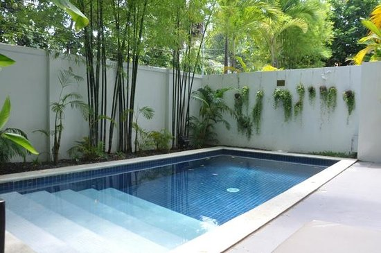 The Pavilion : Private Pool in Room #31