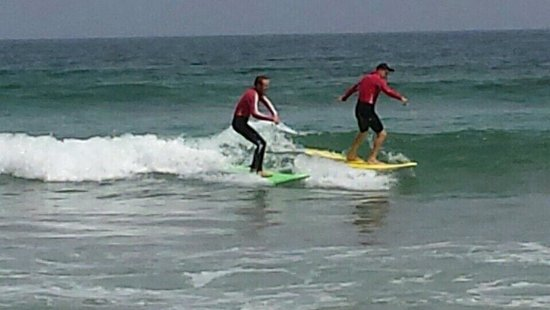 Surf School Lanzarote: Dan and Jamie
