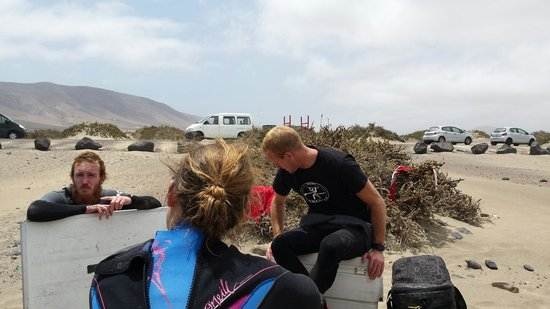 Surf School Lanzarote: One of our talks