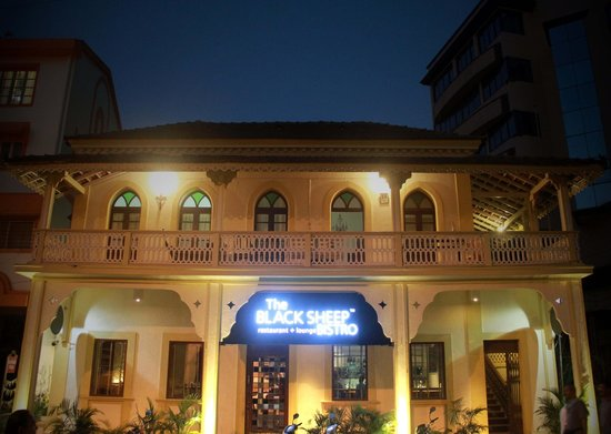 Photo of Seafood Restaurant The Black Sheep Bistro at Swami Vivekanand Road, Near Tata Docomo Head Office, Behind Icici Bank Main Branch, Panjim 403001, India
