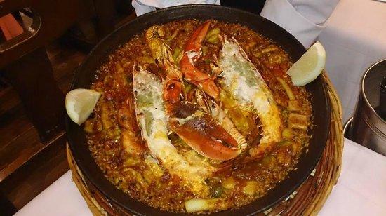 Restaurante Salamanca : una delizia con l'astice freschissimo