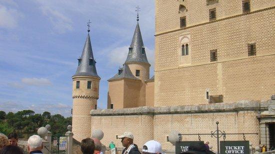 Aquädukt von Segovia: 13th century Castle