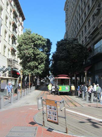 Powell and Market Cable Car Turnaround