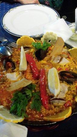 Restaurante Sol: Paella