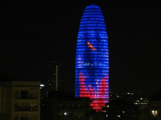 Catalonia Atenas Hotel: vista