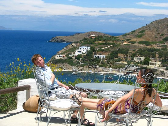 Pino di Loto Luxury Apartments: The view next to the pool which is directly adjoining the rooms and bar
