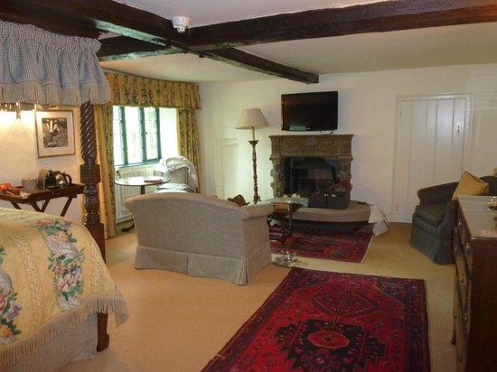 The Bay Tree Hotel : Oak Suite Bedroom