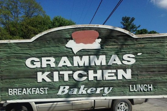 Gramma's Kitchen : Look for this sign!
