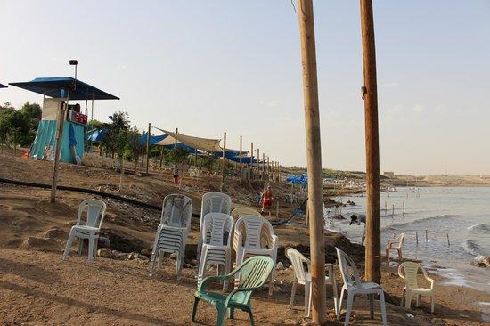 Biankini Dead Sea Resort: plage