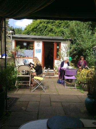 Mimosa Tea Garden: Mimosa Tea rooms Eastham on the Wirral.