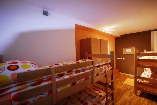 City Break Hostel: four bed dorm