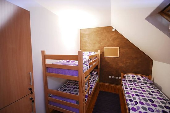 City Break Hostel: three bed private room