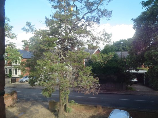 Wimblehurst Hotel: View from room