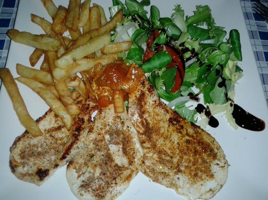 Brighton Bar Oviedo: Pollo cajun