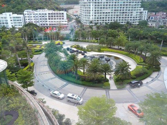 Sheraton Dameisha Resort, Shenzhen: внутренний двор