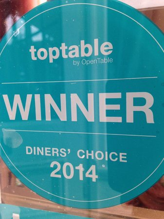 Meejana: Diners Choice Award 2014