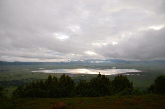 Empakaai Crater : Озеро Магади