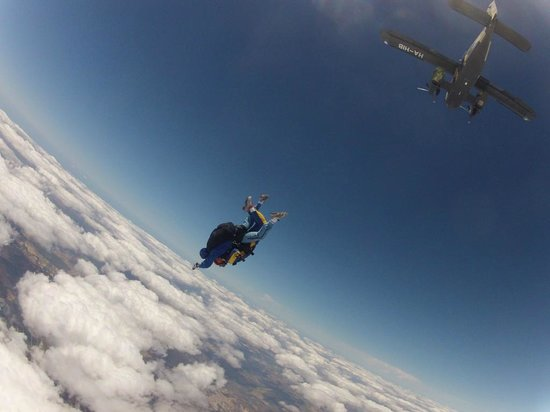 Skydive Spain: up above the world so high ...