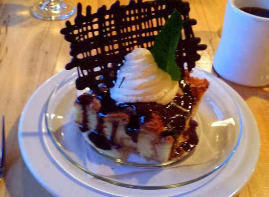 Thornton River Grille : Choclate Chip Bread Pudding
