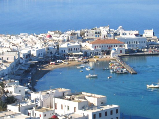 Shuttle From Tourlos New Port Of Mykonos To Old Town