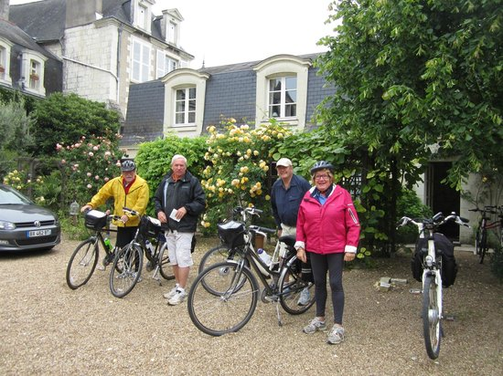 Hotel Diderot: cycling for a few hours