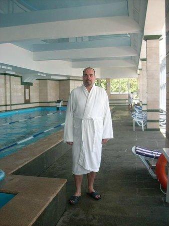 Livadiyskiy SPA & Hotel : Бассейн (50 м) с подогреваемой морской водой