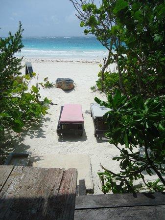 Playa Esperanza: View from Josefa terrace