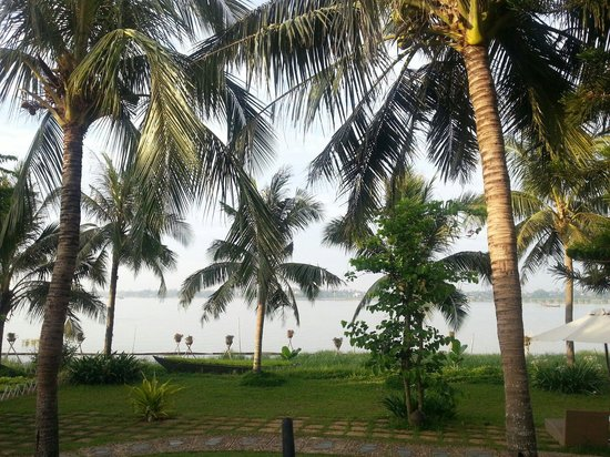 Vinh Hung Emerald Resort: View from room
