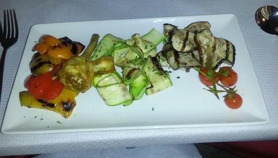 Ta' Karolina: roasted vegetables