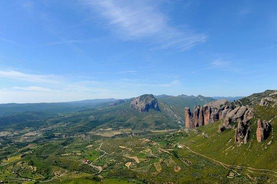 Riglos, Spagna: Mirador de los Buitres