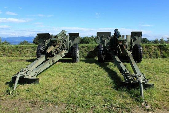 Kristiansten Fortress : Пушки поновее
