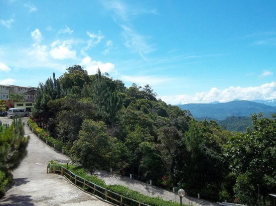 Celyn Resort Kinabalu: Another view of the mountainside