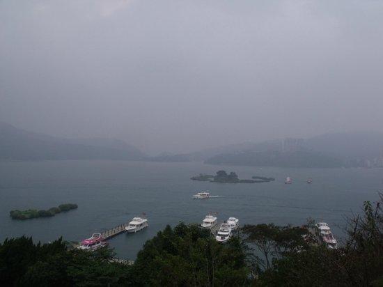 Sun Moon Lake: view from syungguang temple