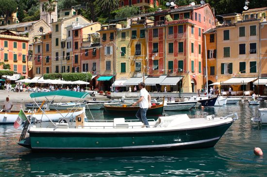 Portofino Taxi Boat: Portofino - this was our boat. William is a great guy to have a tour with!