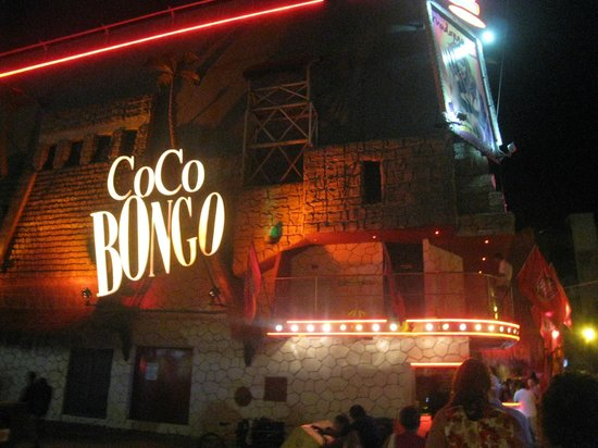 Coco Bongo Playa del Carmen : l'entrée de coco bongo