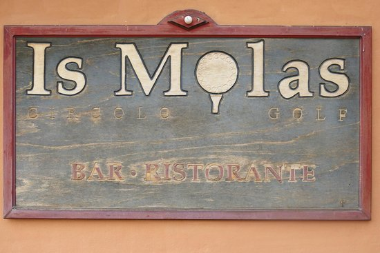 Is Molas Resort : Hotel sign
