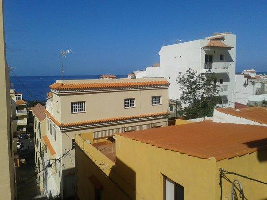 Pension Candelaria : Blick in zum Meer