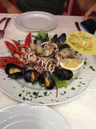 Il Tari: insalata di mare