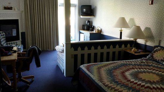 The Country Inn at Camden / Rockport: Room with King bed