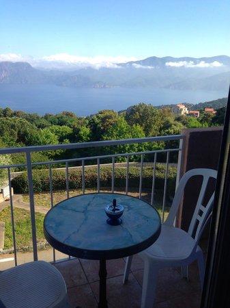 Hotel Scandola : Room's balcony