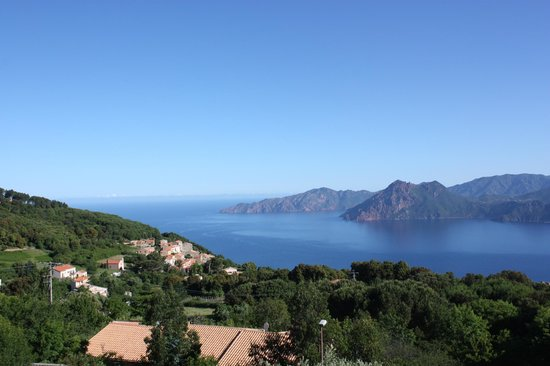 Hotel Scandola: View from our room