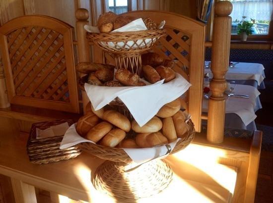Hotel-Pension Bloberger Hof: mix di pane