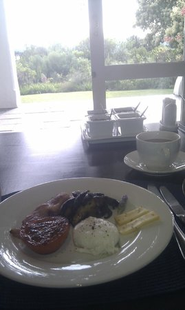 Fynbos Ridge Country House & Cottages : Breakfast