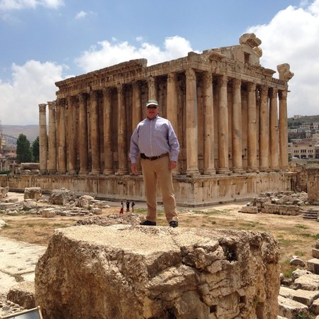 Temples de Baalbek : The temple of Baccus