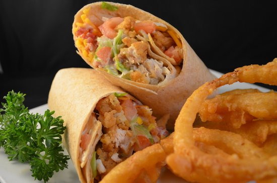The Willow: Chicken Bacon Ranch Wrap