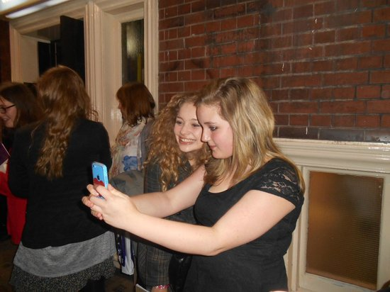 Les Miserables London: Stage door photo