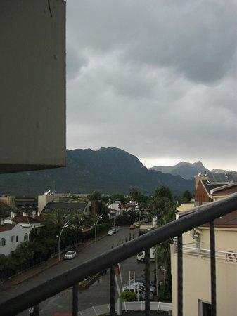 Romeo Otel: Вид с балкона