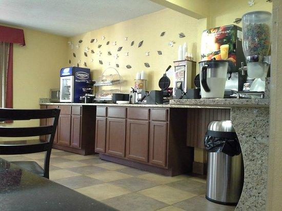 Best Western Mountainbrook Inn : Breakfast area