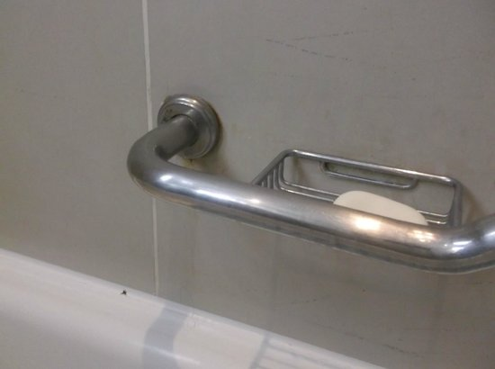 Radisson Blu Hotel, Cairo Heliopolis: Bathroom handle was rusty and coming out of the wall