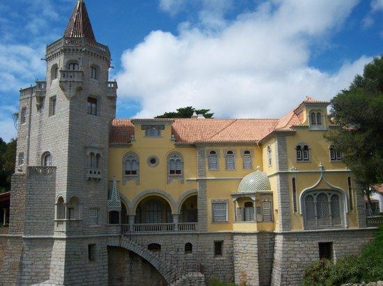 Cascais : Conde Castro de Guimaraes which overlooks Santa Marta beach.